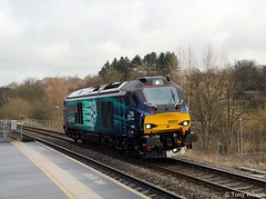 Photo of Direct Rail Services DRS Class-68 68001