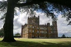 Highclere Castle .... ( Downton Abbey)