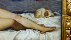 Titian, Venus of Urbino, detail