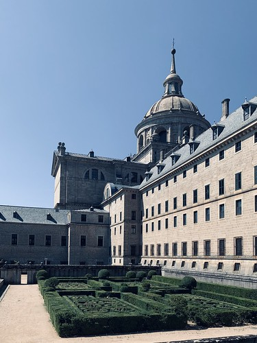 El Escorial monastery, near Madrid