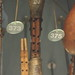 Clarinets [Single Reed Instruments with a Cylindrical Bore and Fingerholes] 15: Alboka (at Horniman Museum)