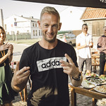 Liepājas pludmales tenisa līgas 2020 apbalvošana. Foto: Ritvars Sproģis / Award ceremony of Liepaja Beach tennis league 2020. 15.08.2020.