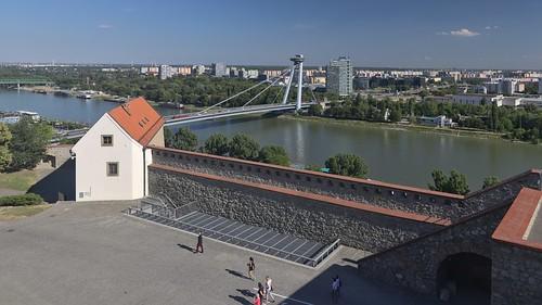 2017-06-15 SK Bratislava I & Bratislava V, Bratislavský hrad, Dunaj, Most SNP