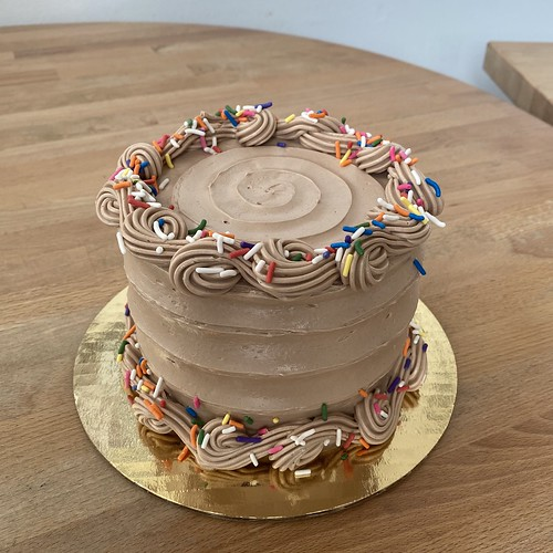 Chocolate Birthday Sprinkle
