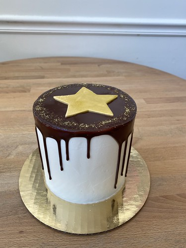 Gold Star Choc Drip