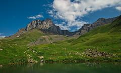 Chaukhi Mountain & Tina Lake, Juta Valley, Mtskheta-Mtianeti, Georgia