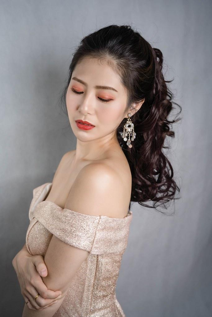 【新秘蓁妮】新娘造型創作 / 歐式簡約高馬尾