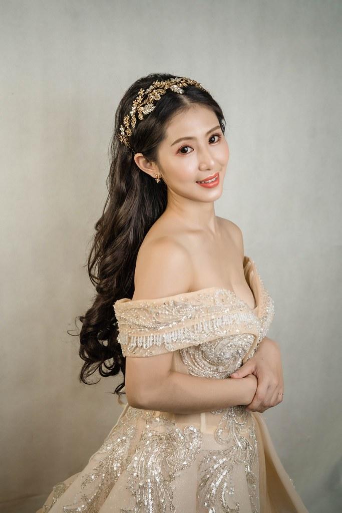 【新秘蓁妮】新娘造型創作 / 歐式公主