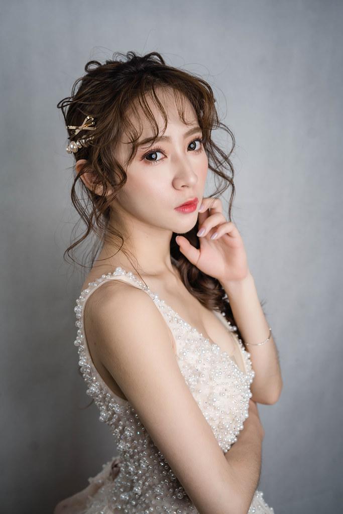 【新秘蓁妮】新娘造型創作 / 韓系仙氣甜美風