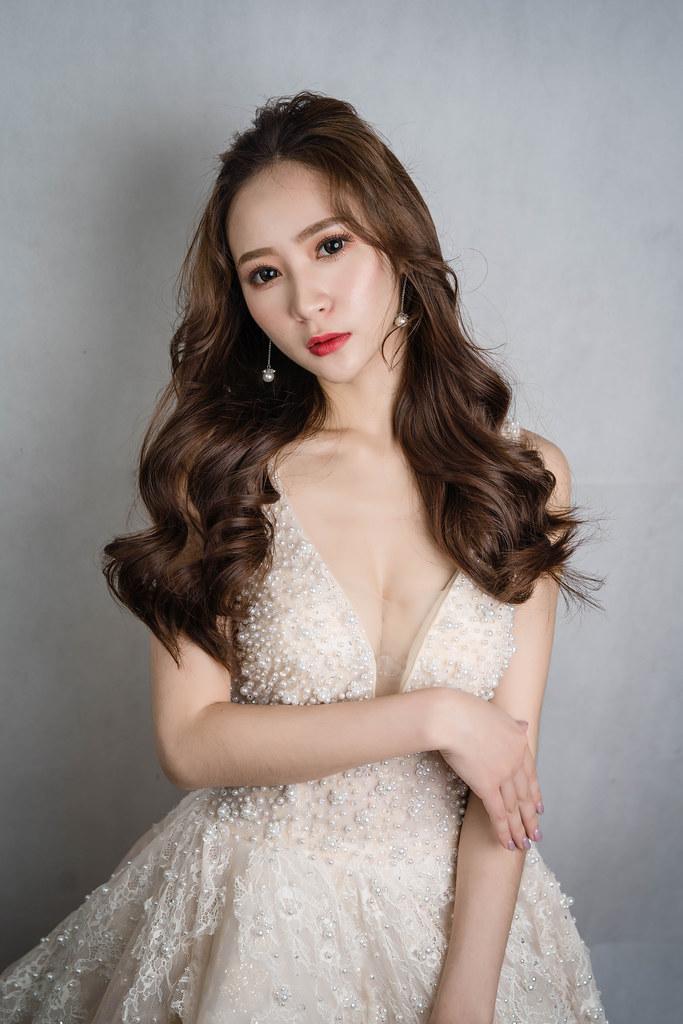 【新秘蓁妮】新娘造型創作 / 韓系柔美