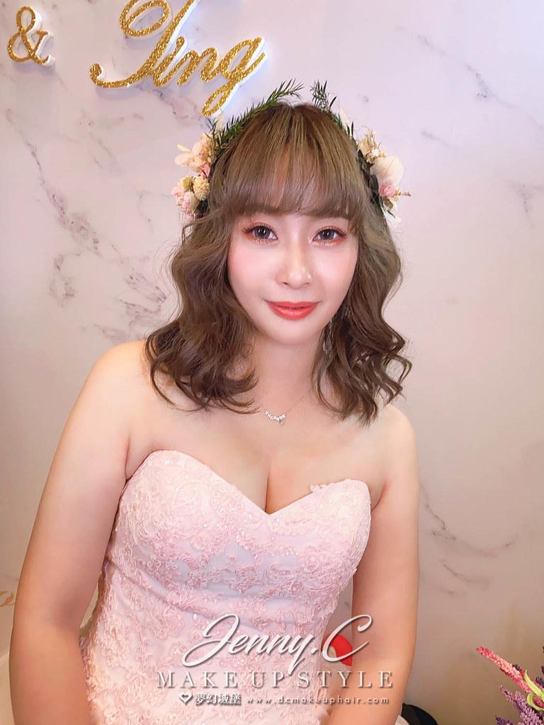【新秘蓁妮】bride 亦婷 訂結婚造型 / 韓系甜美風