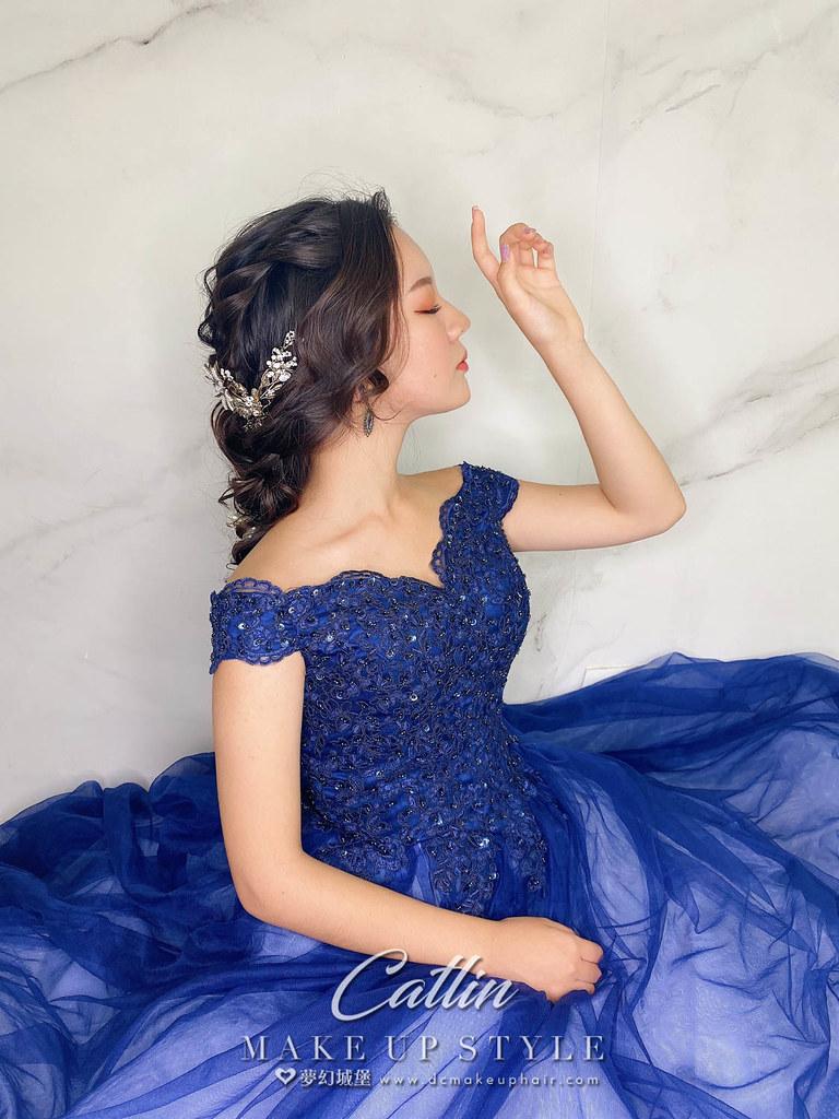 【新秘Catlin】新娘造型創作 / 女神公主