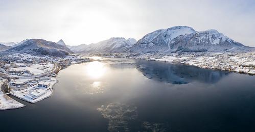 Sykkylvsfjorden, Vinter