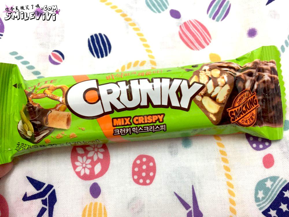 零食∥韓國CRUNKY(크런키)三種熱量低巧克力棒之雙倍香脆夾心巧克力棒(더블크 런치바 )、威化夾心巧克力棒( 웨하스 초코바)、綜合脆米果巧克力棒(믹스크리스피) 12 50240242771 7464499a43 o
