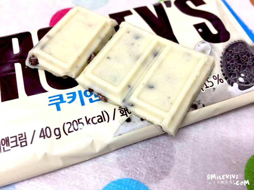 食記∥韓國HERSHEY'S牛奶杏仁巧克力片(밀크 아몬드 초콜릿)、白巧克力脆片(쿠키앤크림)、巧克力脆片(쿠키앤초코) 31 50240254711 71638ed761 o