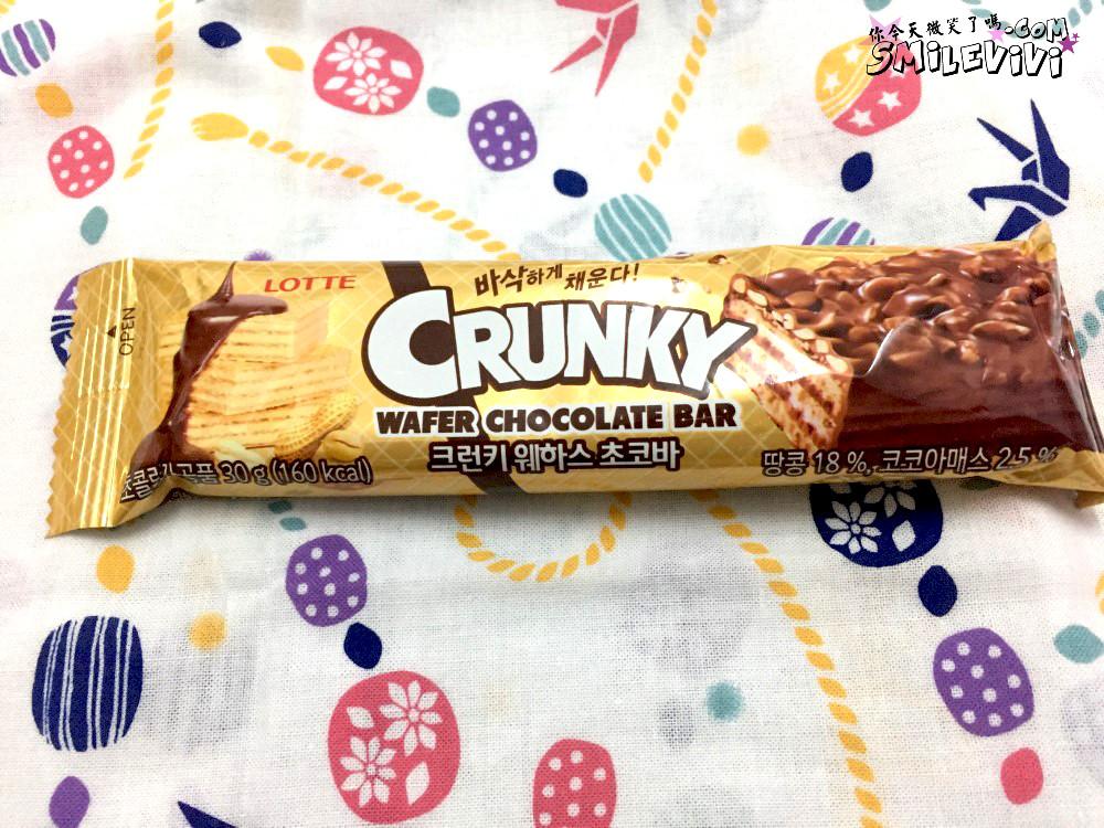 零食∥韓國CRUNKY(크런키)三種熱量低巧克力棒之雙倍香脆夾心巧克力棒(더블크 런치바 )、威化夾心巧克力棒( 웨하스 초코바)、綜合脆米果巧克力棒(믹스크리스피) 7 50240457477 f70414ce3e o