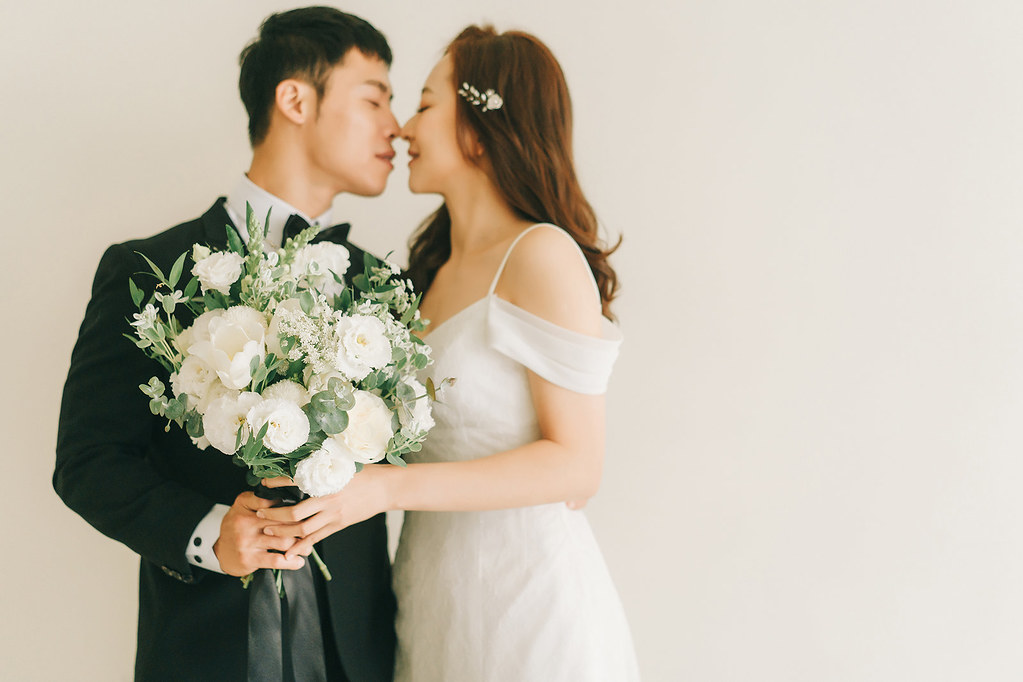 [美式婚紗]蕭貴 & 婕妤 / 攝影棚棚拍