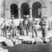 Prisoners cleaning up Orange County Courthouse after 1933 earthquake