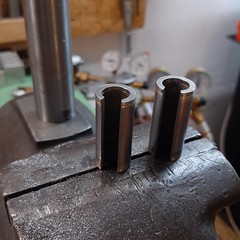 Fabricating strange parts for a strange #minivelo #ccycles