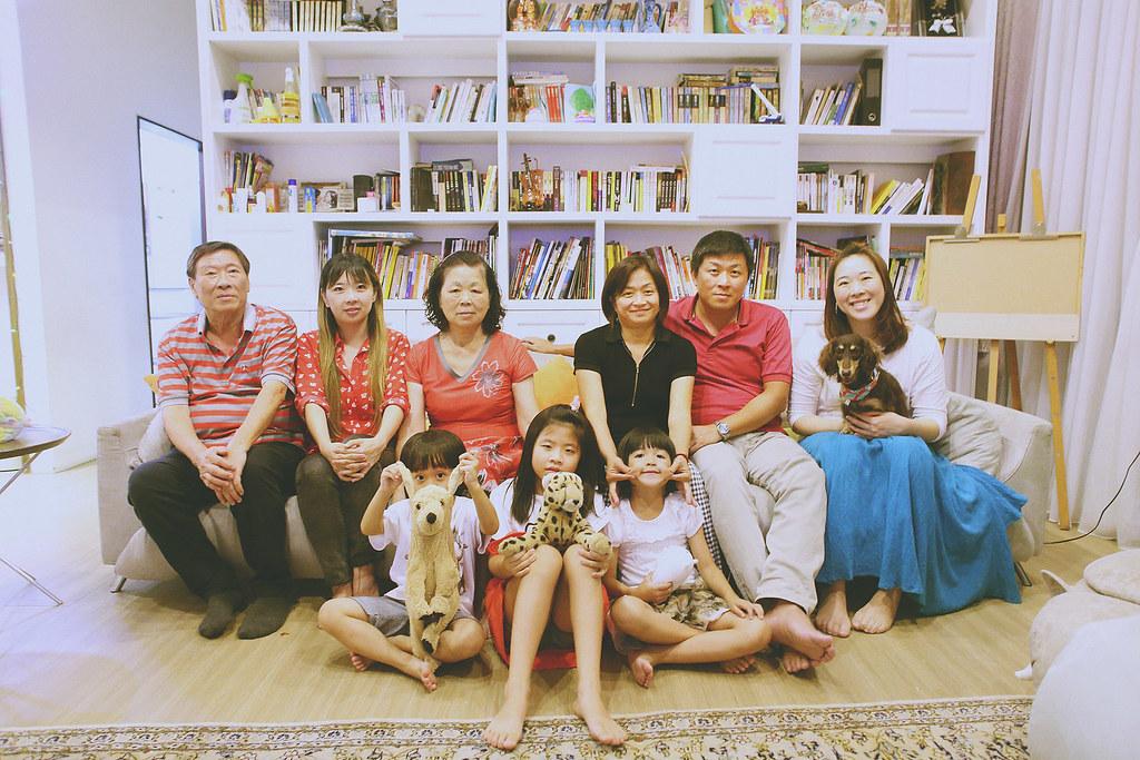 家庭寫真,親子寫真,桃園,全家福照,居家生活,生日party,自然
