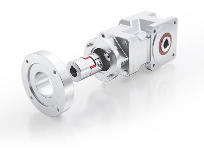 Unser Servogetriebe KS210 ist jetzt auch mit einem innovativen Wechselflanschkonzept erhältlich. Das Getriebe kann so relativ unkompliziert und einfach mit verschiedenen Motorentypen kombiniert werden, ohne dass eine Modifikation an den Motoren erforderli