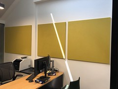 SerenityLite Wall Panels In Office