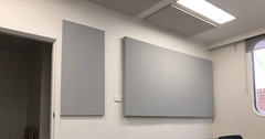 SerenityLite Acoustic Wall Panels In Office