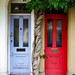 Front Doors, Swaton Street, Bow