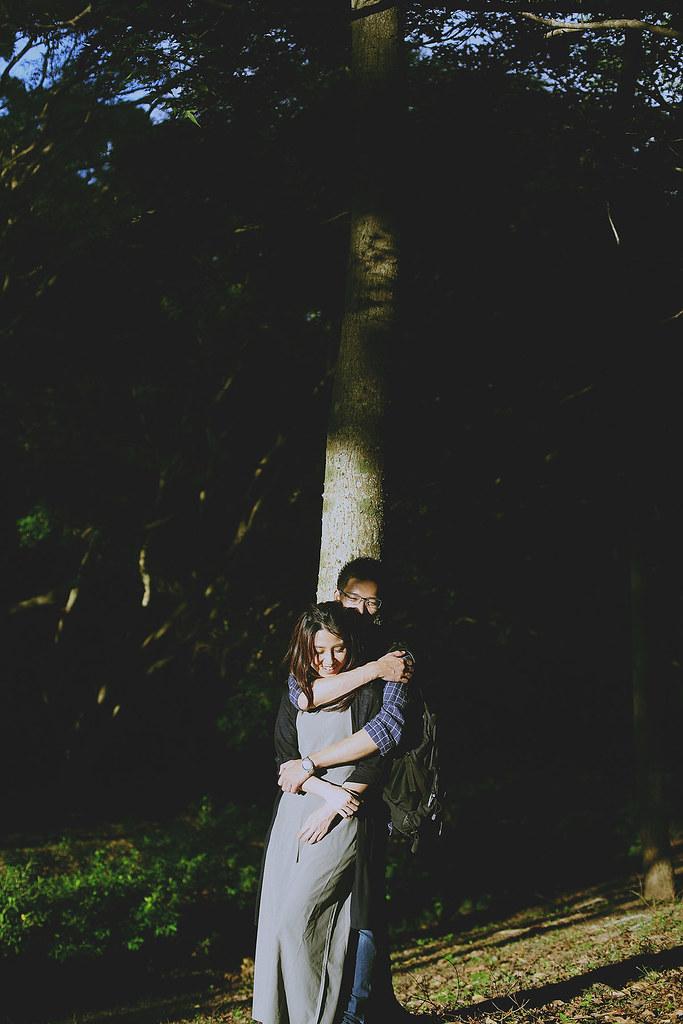 便服婚紗,情侶寫真,清華大學,自然,溫度,情感