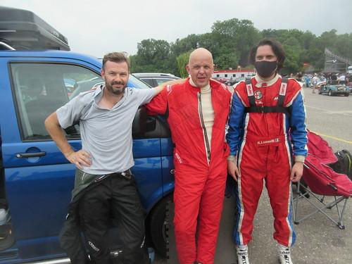 George, Dave, Riccardo - 1-3-2 in race 1