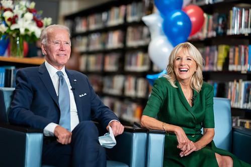 Vice President Joe Biden and Dr. Biden A by Biden For President, on Flickr