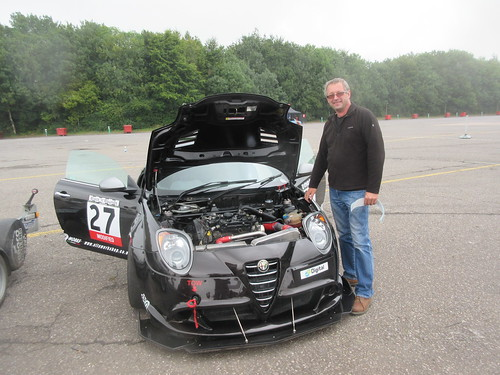 Jamie Porter had a good day with the Mito