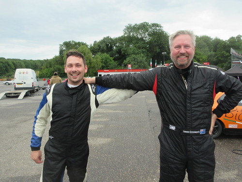 Race 2 rivals - James Ford and Simon Cresswell