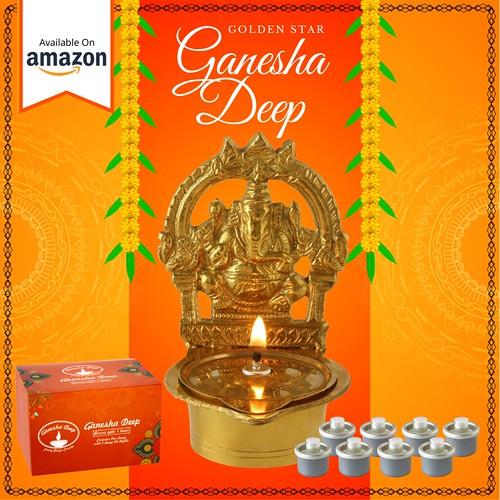 Ganesha Deep Lamp | Ganpati Decoration | Happy Ganesh Chaturthi