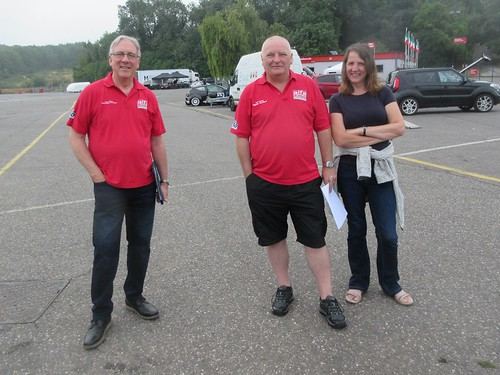 Andy, Kevin Lewis our Scrutineer and Claire