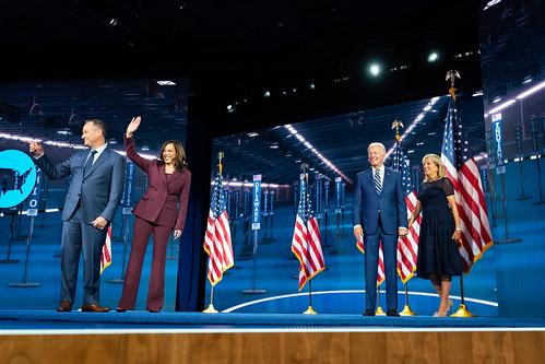 Senator Kamala Harris Accepts the Nomina by Biden For President, on Flickr