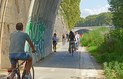 Congested Tiber Path - 1166