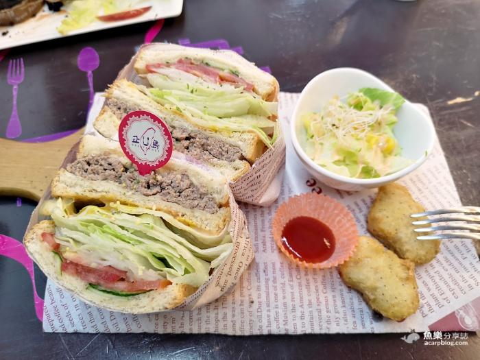 【桃園大園】正U島|青埔高CP值早午餐|小汽車座位超可愛 @魚樂分享誌