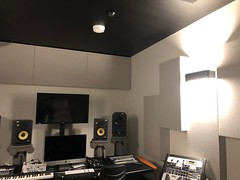 Sontext Acoustic Panel in studio