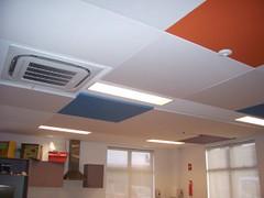 Reduced Noise Acoustic Ceiling Panels
