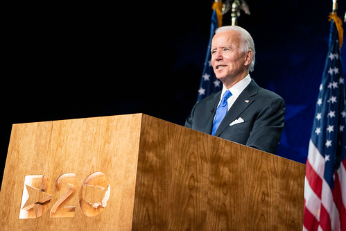 Joe Biden Accepts the Nomination for the by Biden For President, on Flickr