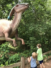 "Dinosaurs at the Zoo • <a style=""font-size:0.8em;"" href=""http://www.flickr.com/photos/109120354@N07/50252594642/"" target=""_blank"">View on Flickr</a>"