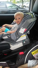 "Luc in His Car Seat • <a style=""font-size:0.8em;"" href=""http://www.flickr.com/photos/109120354@N07/50252703152/"" target=""_blank"">View on Flickr</a>"