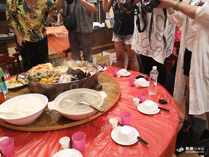 【馬祖北竿】超浮誇海鮮痛風鍋2.0|超值價每人只要400元|機場旁龍福山莊 @魚樂分享誌