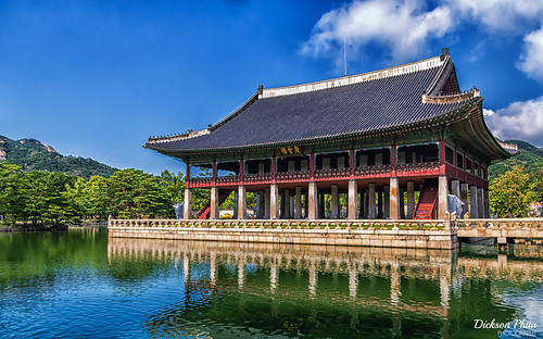 The Pavilion at Gyeongbokgung Palace