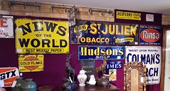 Photo of Enamel signs for sale at Hemswell Antiques