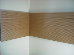 Grooved Acoustic Panels in Meeting room Murano