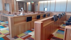 Acoustic Wood Panel in Courtroom