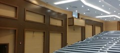 Murano Acoustic Wood Panels in Lecture Theatre