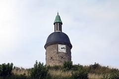 La tour de l'Horloge, Guînes, Via Francigena